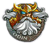Odin king of the Gods