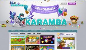 karamba casino forside