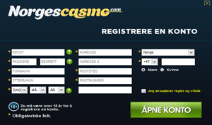 NorgesCasino SignUp Promo