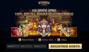 Tivoli Casino velkomsttilbud