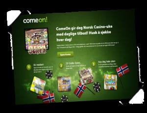 ComeOn-casino-kampanje