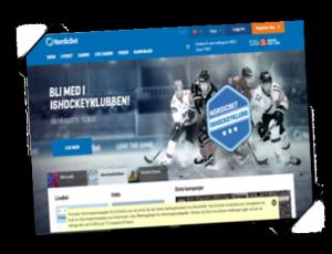 Nordicbet Frontpage