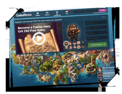 Casino Heroes det beste norske casinoet spilleautomater free spins