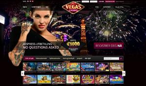 VegasCasino forside spilleautomater