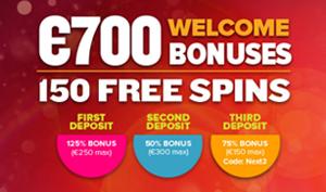 Vi gir deg unik bonus for NextCasino