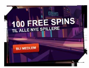 NorgeVegas spilleautomater free spins uten innskudd