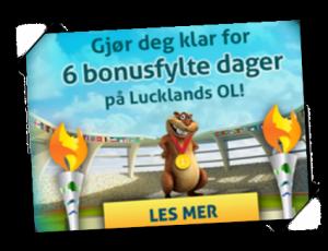 Luckland OL kampanje bonus reload