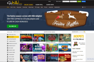 GoWild Casino forside