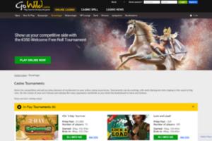 GoWild Casino turneringer